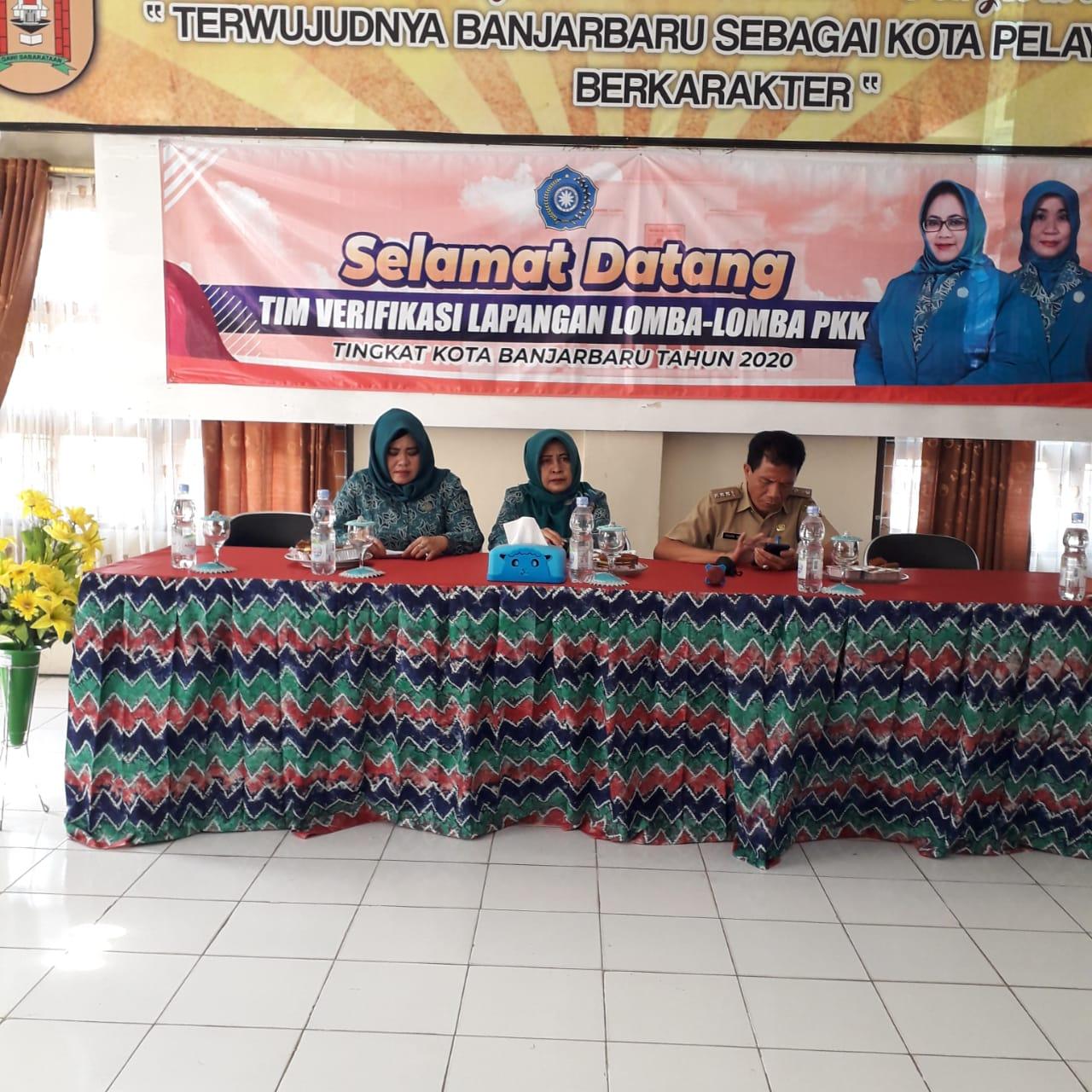 Ekspose Verifikasi lapangan Iva Test Tingkat Kota Banjarbaru