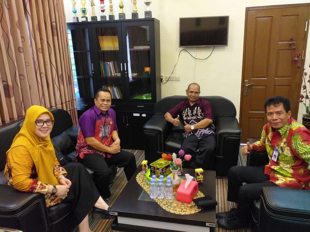 Silaturahmi Panitia Pemilihan Kecamatan dan Persiapan pembentukan Sekretariat PPK Kecamatan Banjarbaru Utara
