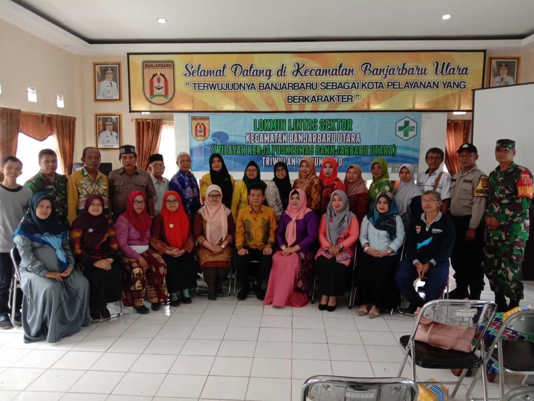 Lokakarya Mini Lintas Sektor Kecamatan Banjarbaru Utara