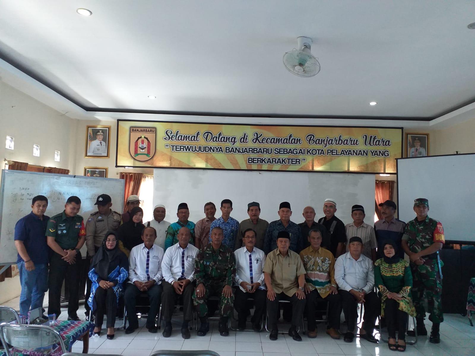 Musyawarah Cabang DPC Lembaga Pemberdayaan Masyarakat (LPM) Kecamatan Banjarbaru Utara dalam rangka pemilihan Ketua DPC LPM Kecamatan Banjarbaru Utara untuk periode 2020 – 2025