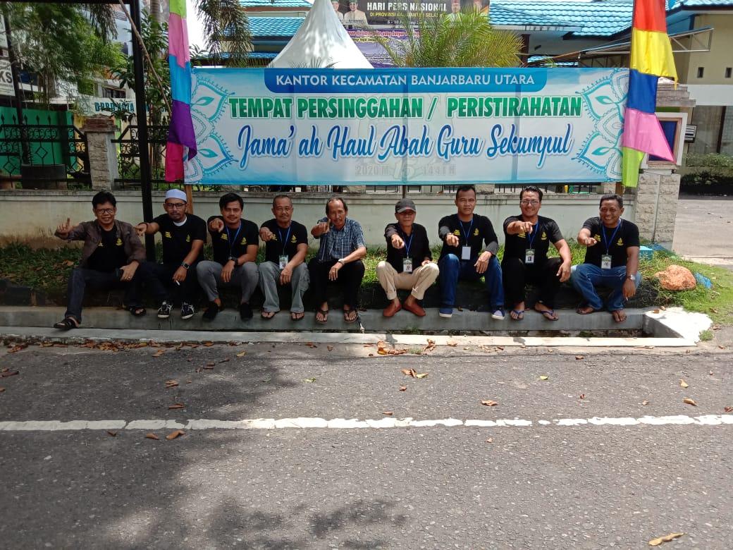 """Partisipasi Kecamatan Banjarbaru Utara Sebagai Tempat Persinggahan & Relawan Kegiatan """"Haul Abah Guru Sekumpul Ke-15"""""""