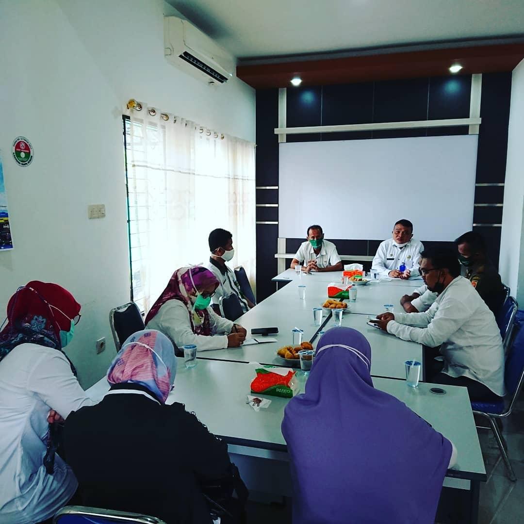 Rapat Satgas Covid-19 se Kecamatan Banjarbaru Utara