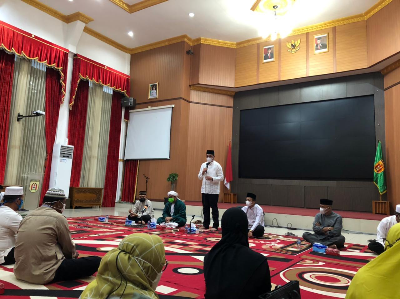 Buka Puasa Wali Kota Banjarbaru dan Wakil Wali Kota Banjarbaru bersama  Camat, Lurah dan Jajarannya.