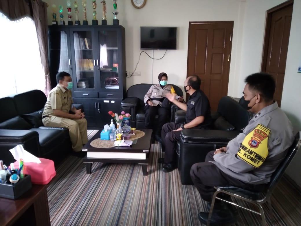 Kunjungan Silaturahim dan Perkenalan Kapolsek Banjarbaru Kota