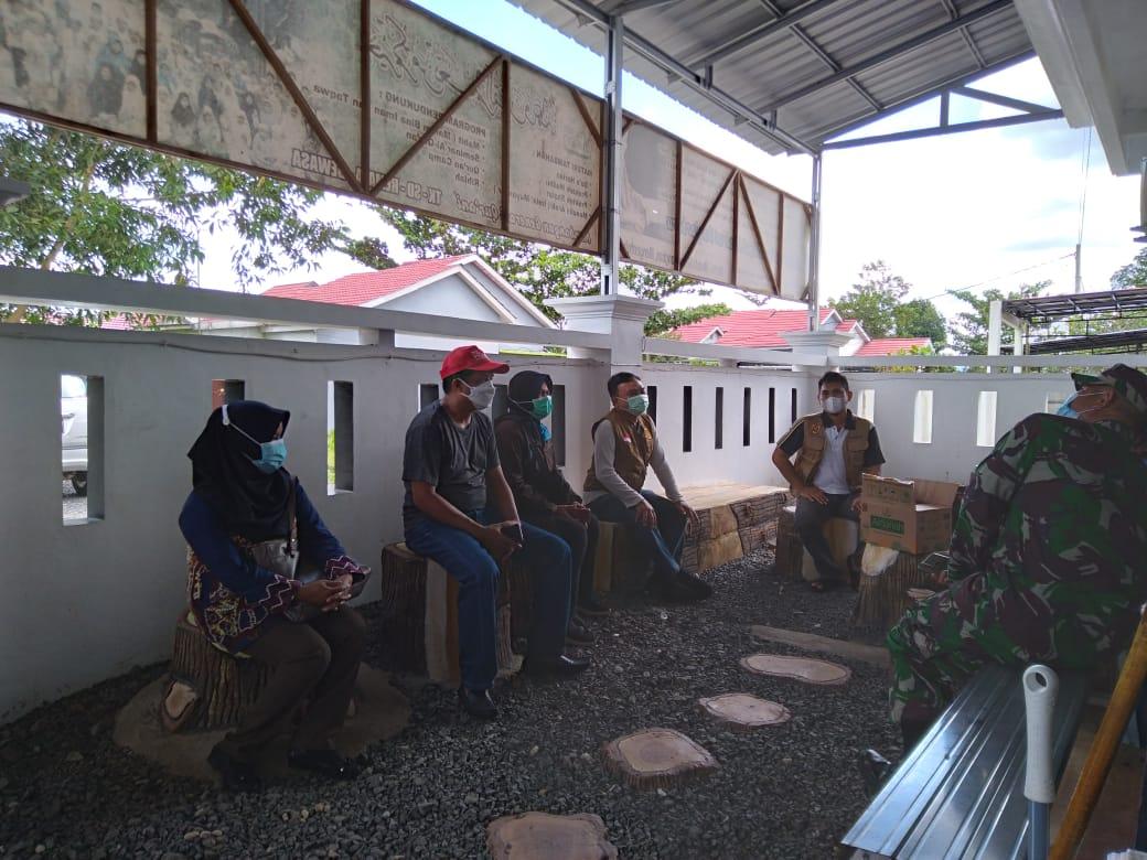 Giat Gabungan PPKM di Beberapa Titik Wilayah Kecamatan Banjarbaru Utara & Kecamatan Banjarbaru Selatan