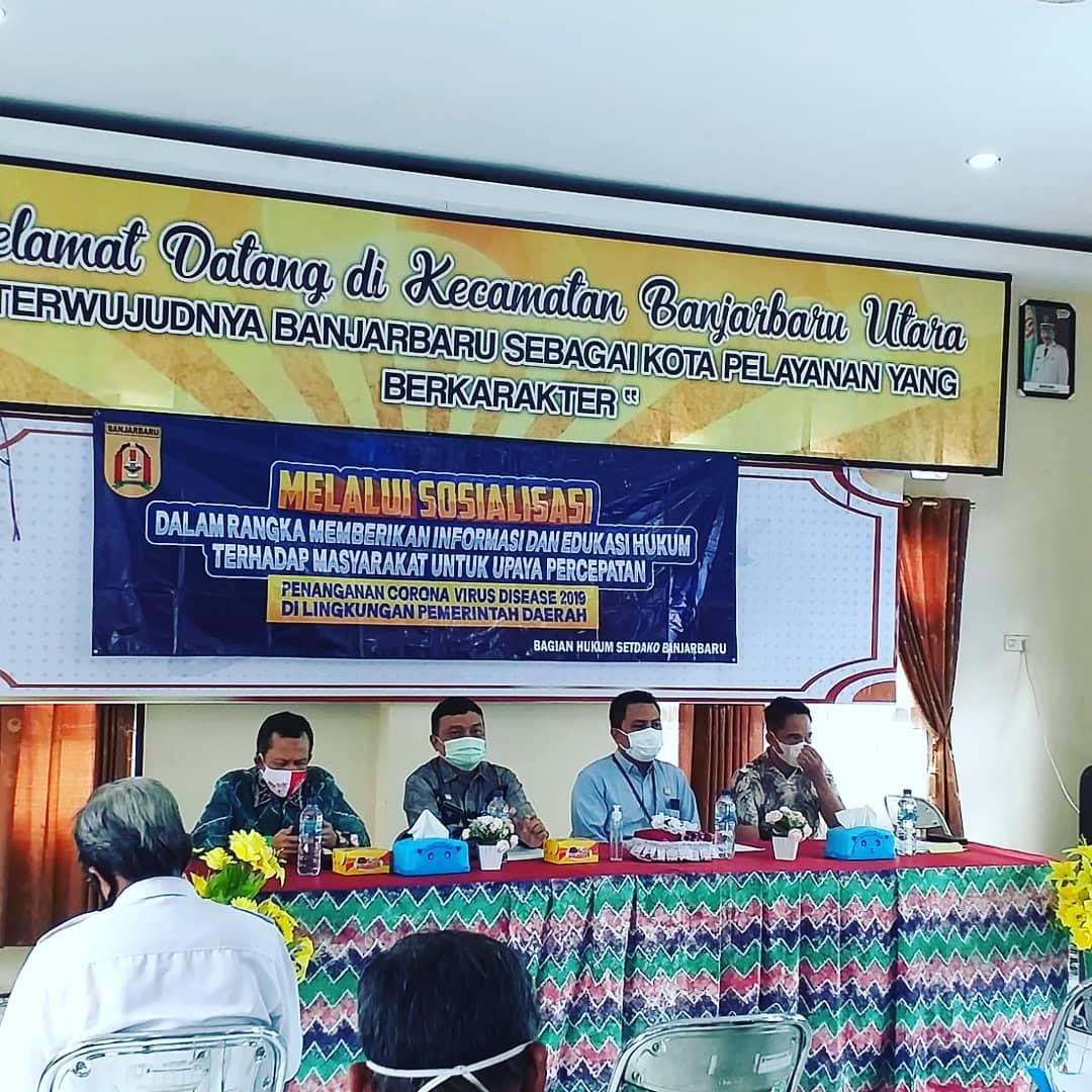 Sosialisasi Peraturan Walikota Banjarbaru Nomor 27 tahun 2020 tentang Penerapan Disiplin dan Penegakan Hukum Protokol Kesehatan